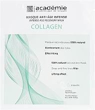 Духи, Парфюмерия, косметика Интенсивная восстанавливающая коллагеновая маска - Academie Collagen Intense Age Recovery Mask
