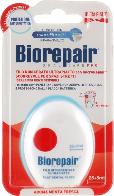 Зубная нить ультраплоская, 30 м - Biorepair Ultra-Flat Floss