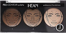 Парфумерія, косметика Палетка для контурингу обличчя - Hean Pro-Countour Palette