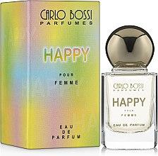 Духи, Парфюмерия, косметика Carlo Bossi Happy - Парфюмированная вода (миниатюра)