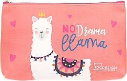 Духи, Парфюмерия, косметика Косметичка с принтом, No Djama Llama - IDC Institute Design Accessories Cosmetig Bag