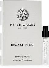 Духи, Парфюмерия, косметика Herve Gambs Domaine du Cap - Одеколон (пробник)