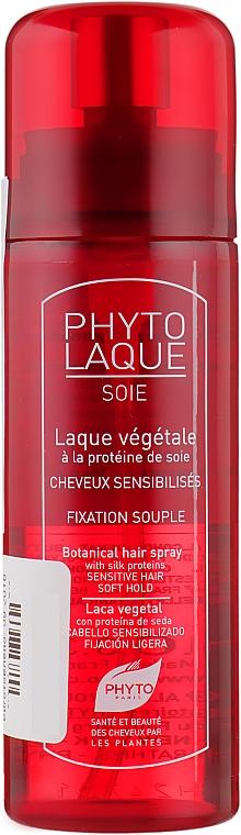Лак для волос c протеинами шелка - Phyto Phytolaque Soie