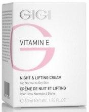 Духи, Парфюмерия, косметика Ночной лифтинговый крем - Gigi Vitamin E Night & Lifting Cream