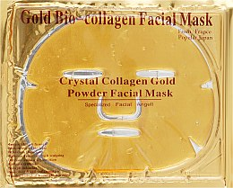 Духи, Парфюмерия, косметика Антивозрастная гидрогелевая маска для лица от морщин с коллагеном и коллоидным золотом - Veronni