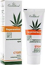 Духи, Парфюмерия, косметика Восстанавливающий крем для очень чувствительной или сухой кожи лица - Cannaderm Regenerace Cream