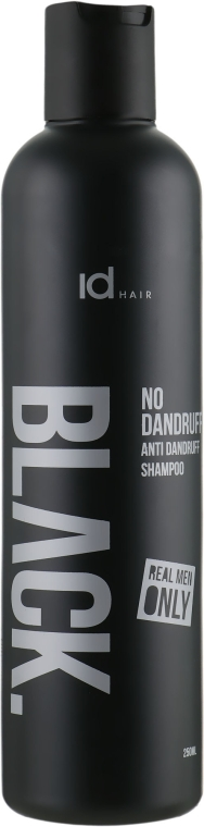 Шампунь против перхоти для мужчин - idHair Black No Dandruff Shampoo