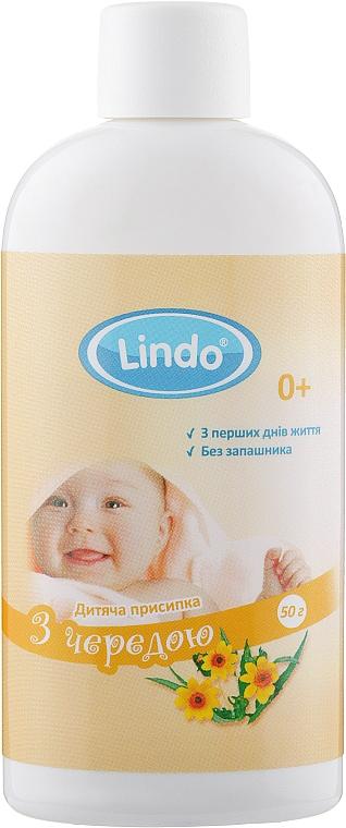 Присыпка детская с чередой - Lindo
