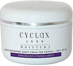 Духи, Парфюмерия, косметика Ночной увлажняющий крем для лица - Cyclax Moistura Replenishing Night Cream Normal / Dry Skin