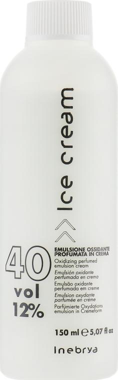 Парфюмированная окислительная эмульсия для волос 12% - Inebrya Hydrogen Peroxide