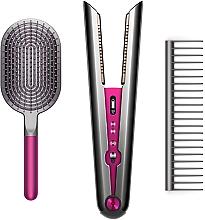 Духи, Парфюмерия, косметика Выпрямитель для волос с набором фирменных расчесок - Dyson Corrale Fuchsia HS03