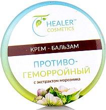 Крем-бальзам противогеморройный к экстрактом морозника - Healer Cosmetics — фото N3