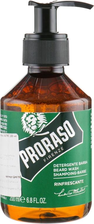 Шампунь для бороды - Proraso Refreshing Beard Wash
