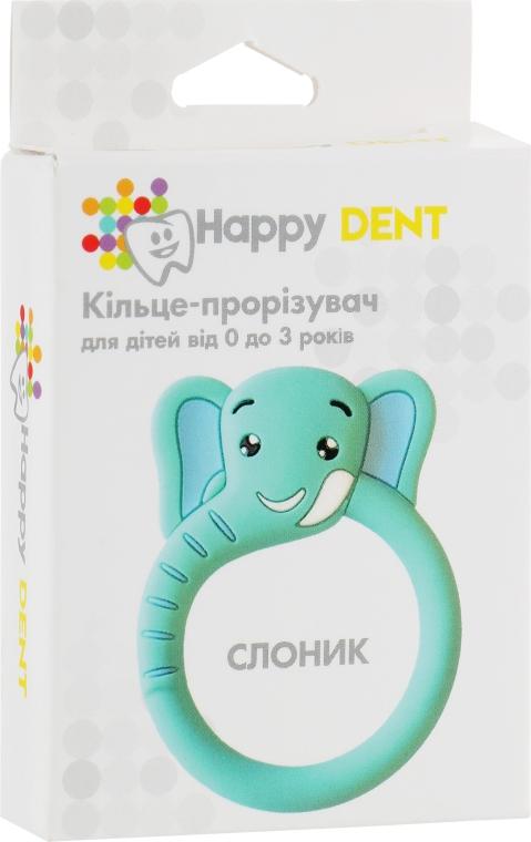 Прорезыватель для зубов, слоник - Happy Dent