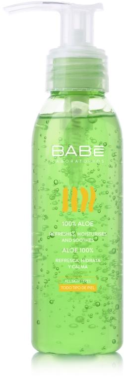 Увлажняющий гель со 100% алое - Babe Laboratorios Aloe Gel Travel Size