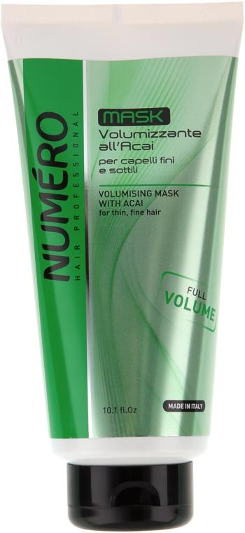 Маска для придания объема с экстрактом асаи - Brelil Numero Volumising Mask