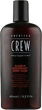 Парфумерія, косметика Гель для душу з дезодоруючим ефектом - American Crew Classic 24-Hour Deodorant Body Wash
