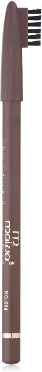 Карандаш для бровей - Malva Cosmetics Eyebrow Pencil