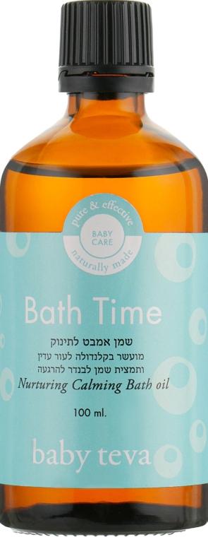Натуральное нежное масло для добавления в ванночку - Baby Teva Bath Time