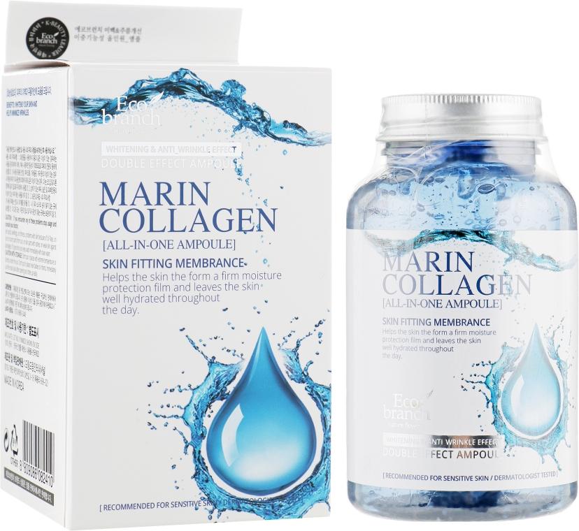 Антивозрастная ампульная сыворотка с морским коллагеном - Eco Branch Marine Collagen All In One