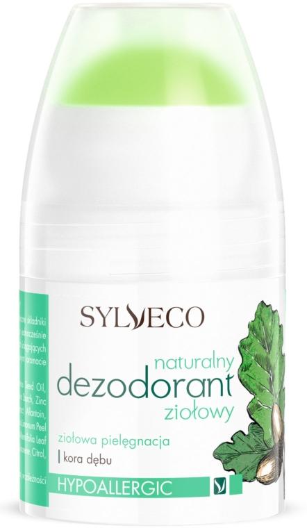 Натуральный травяной дезодорант - Sylveco