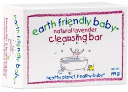 Духи, Парфюмерия, косметика Мыло с лавандой - Earth Friendly Baby Natural Lavender Cleansing Bar