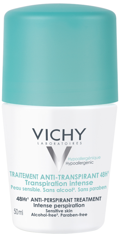 Шариковый антиперспирант - Vichy 48 Hr Anti-Perspirant Treatment