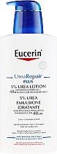 Духи, Парфюмерия, косметика Легкий увлажняющий лосьон для тела для сухой кожи - Eucerin UreaRepair PLUS Lotion 5% Urea