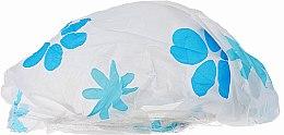 Духи, Парфюмерия, косметика Шапочка для душа, 9298, бело-голубые цветы - Donegal Shower Cap