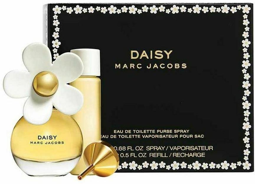 Marc Jacobs Daisy - Набор (edt/20ml + edt/15ml/refill)