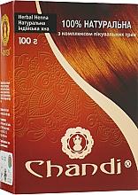 Духи, Парфюмерия, косметика Хна с комплексом лечебных трав - Chandi Natural Henna