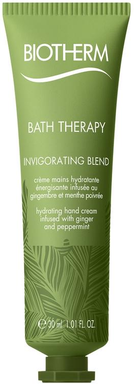 Увлажняющий крем для рук с экстрактом имбиря и перечной мяты - Biotherm Bath Therapy Invigorating Blend Hand Cream