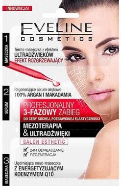 3-этапная процедура для сухой кожи утратившей эластичность - Eveline Cosmetics Salon Esthetic