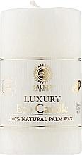 Духи, Парфюмерия, косметика Свеча из пальмового воска, 10.5 см, белая - Saules Fabrika Eco Candle