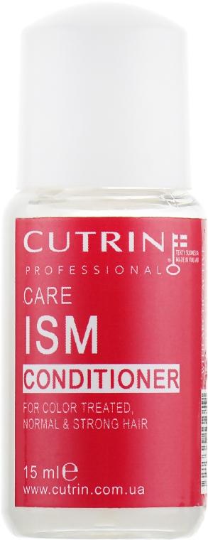 Кондиционер для сильных и жестких окрашенных волос - Cutrin Care ISM Conditioner