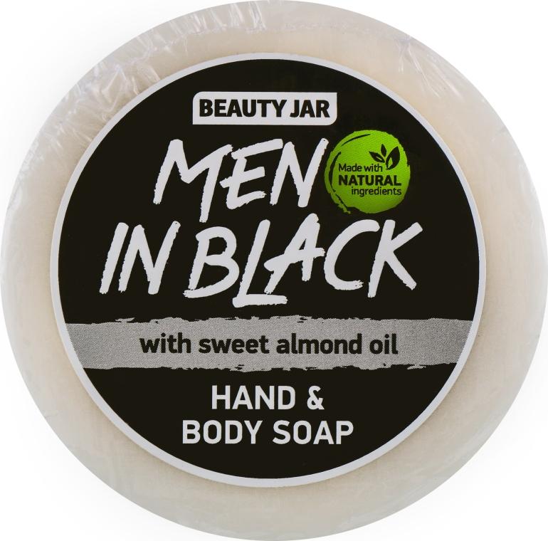 """Мыло мужское для рук и тела """"Men In Black"""" - Beauty Jar Hand & Body Soap"""