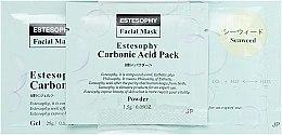 Духи, Парфюмерия, косметика Маска для карбокситерапии лица c морскими водорослями - Estesophy Carbonic Acid Pack Seaweed