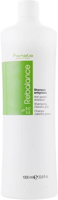 Шампунь для жирной кожи головы - Fanola Sebum Regulator Shampoo