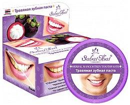 Духи, Парфюмерия, косметика Зубная паста с мангустином - Sabai Thai Herbal Mangosteen Toothpaste