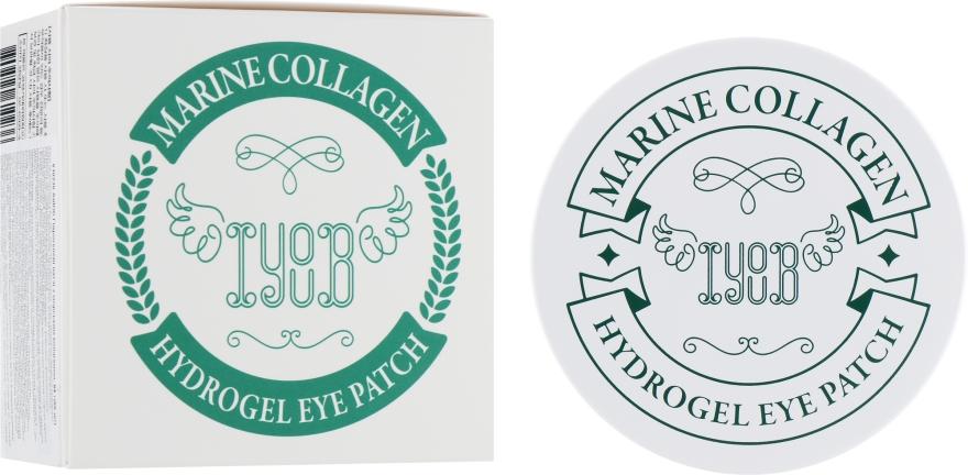 Гидрогелевые патчи с морским коллагеном - Iyoub Hydrogel Eye Patch Marine Collagen