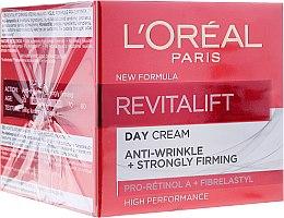 Духи, Парфюмерия, косметика Дневной крем против морщин с эластином - L'Oreal Paris Revitalift Anti-Wrinkle + Strongly Firming Day Cream