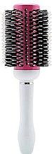 Духи, Парфюмерия, косметика Брашинг, круглый, розовый с белым №80 - Perfect Beauty Brushes Pink Cream 80mm