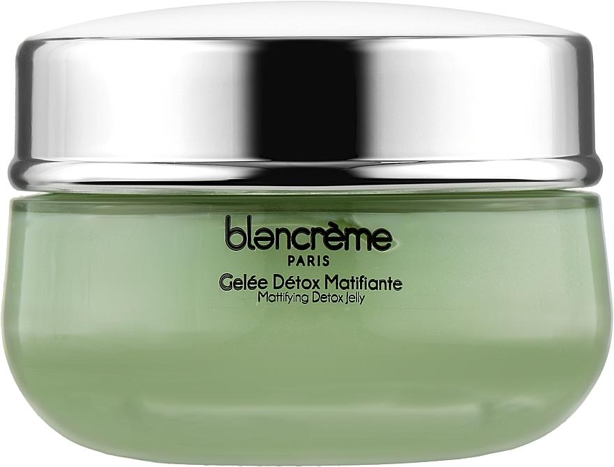Крем-желе матирующий для лица с Зеленым чаем - Blancreme Mattifying Detox Jelly