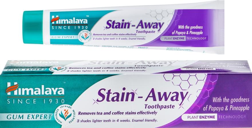 """Зубная паста """"Отбеливающая. Против Пятен"""" - Himalaya Herbals Stain-Away Care Toothpaste"""