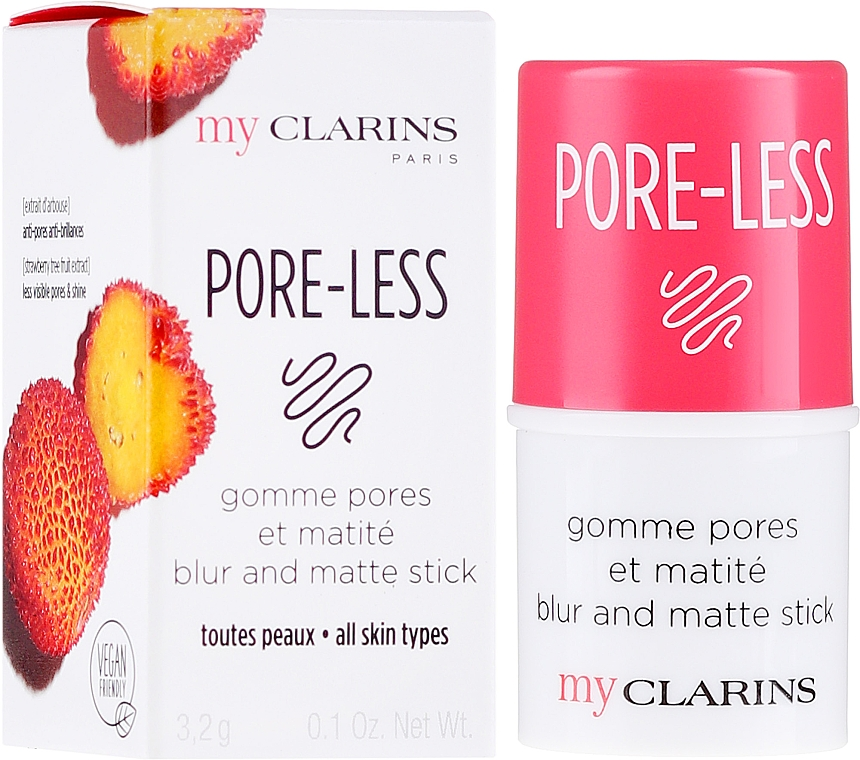 Матирующий стик - Clarins My Clarins Pore-Less Blur And Matte Stick