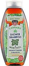 Духи, Парфюмерия, косметика Шампунь для волос с экстрактом масла конопли и ментолом - Palacio Cannabis Menthol Hair Shampoo