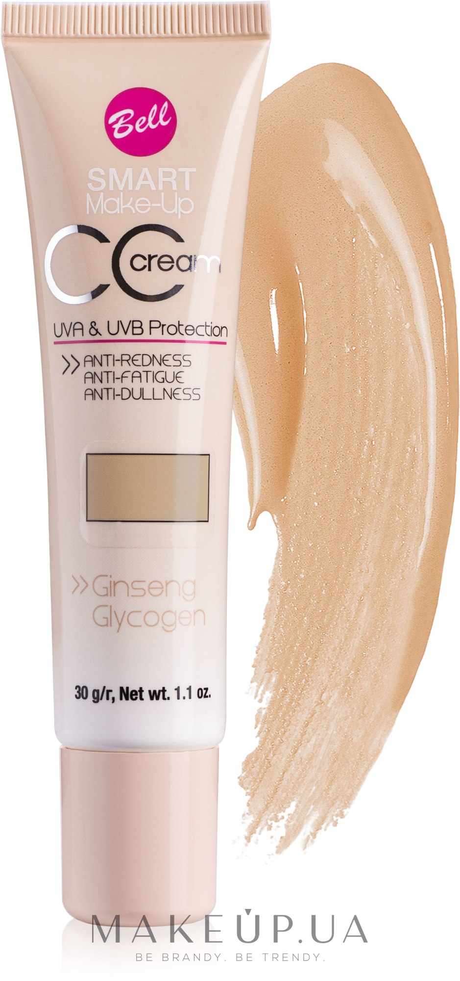 Крем-флюид - CC Cream Smart Make-Up Bell — фото 23