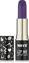 Духи, Парфюмерия, косметика Увлажняющая помада для губ - Miyo Lip Me Lipstick Belladonna