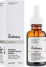 Духи, Парфюмерия, косметика Сыворотка с 15% этилированной аскорбиновой кислотой - The Ordinary Vitamin C Ethylated Ascorbic Acid 15% Solution