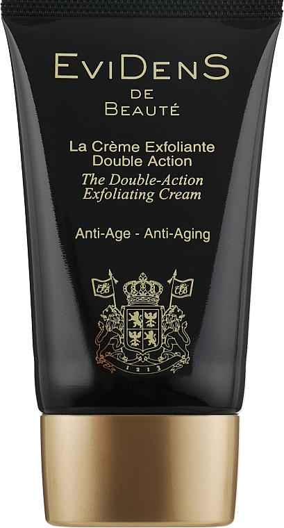 Крем-эксфолиант двойного действия для лица - EviDenS De Beaute Double-Action Exfoliating Cream